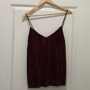 H&M pleated camisole